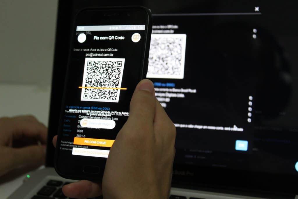 Pix para a Coinext para comprar bitcoin