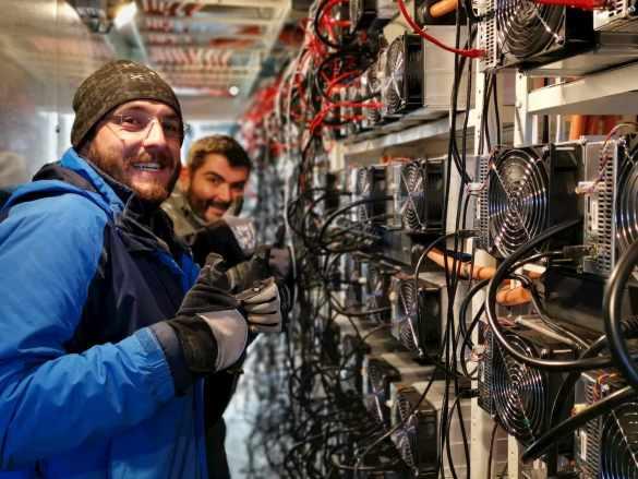 Mineradores de Bitcoin na Suécia
