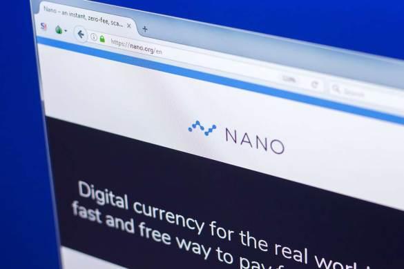 Nano criptomoeda
