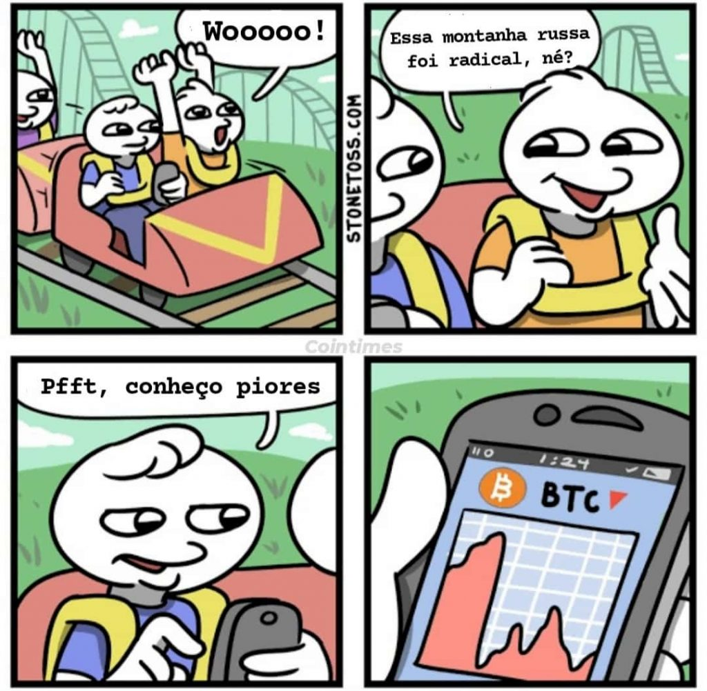 bitcoin montanha russa (meme)