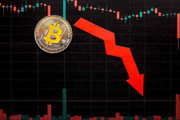 Bitcoin despencando