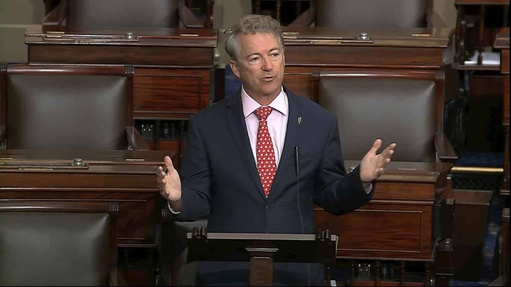 rand paul ataca senadores socialistas republicanos