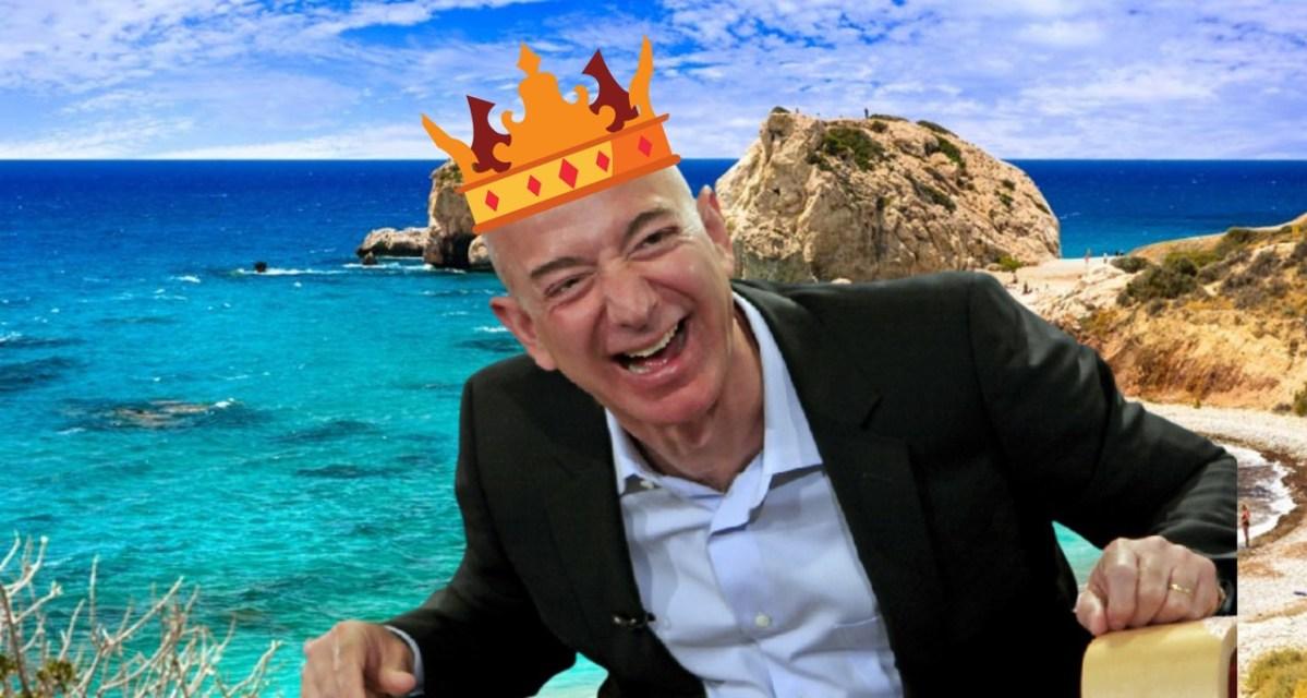 A Amazon pretende comprar a República de Chipre?