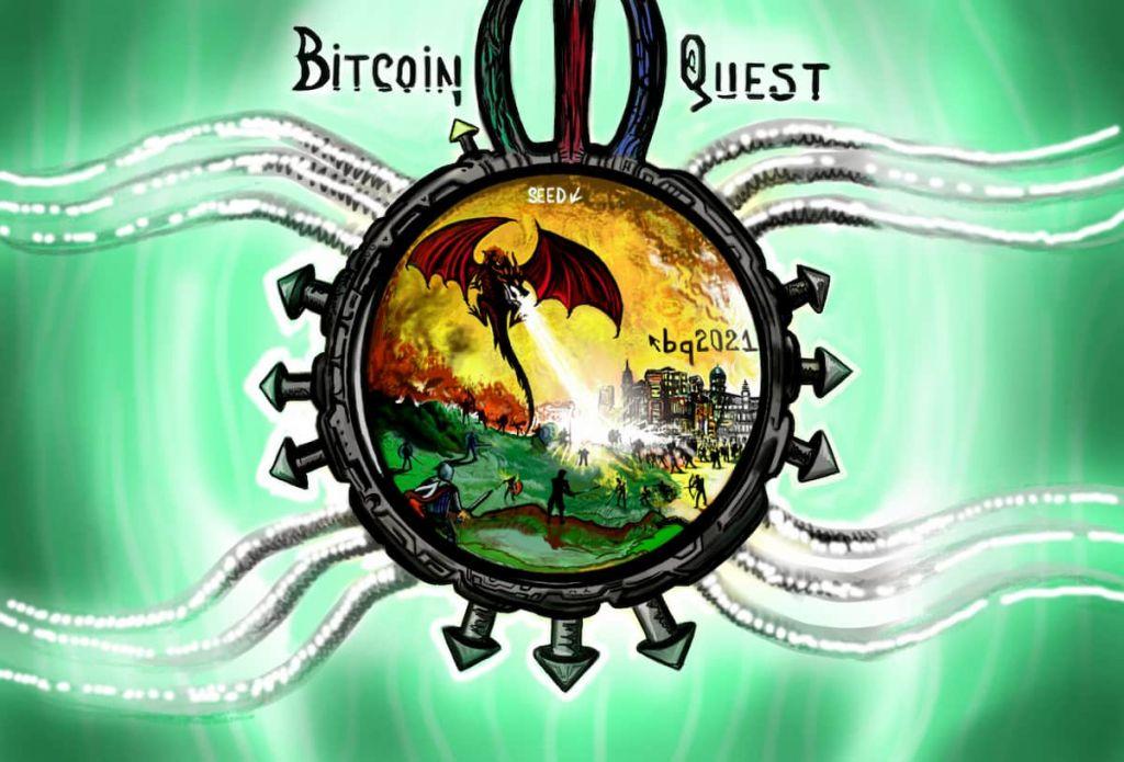 Bitcoin Quest, jogo com bitcoins em desenhos