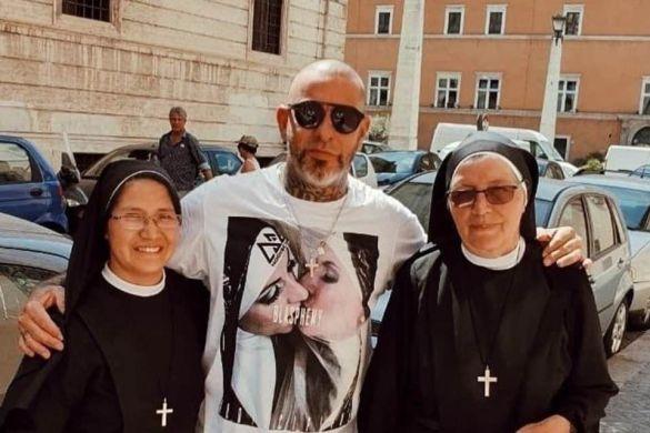 Henrique Fogaça Ancap com freiras