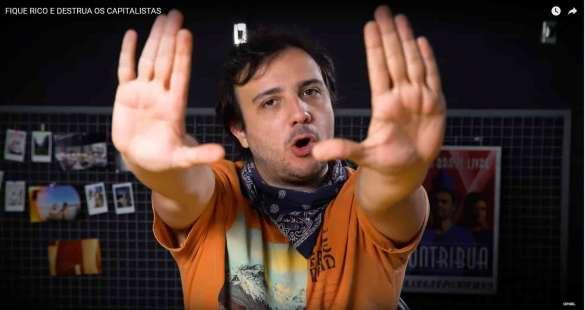 Renan Santos do MBL falando sobre bitcoin