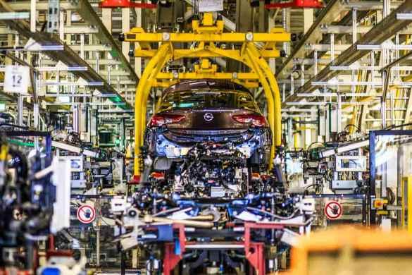 produção de carros