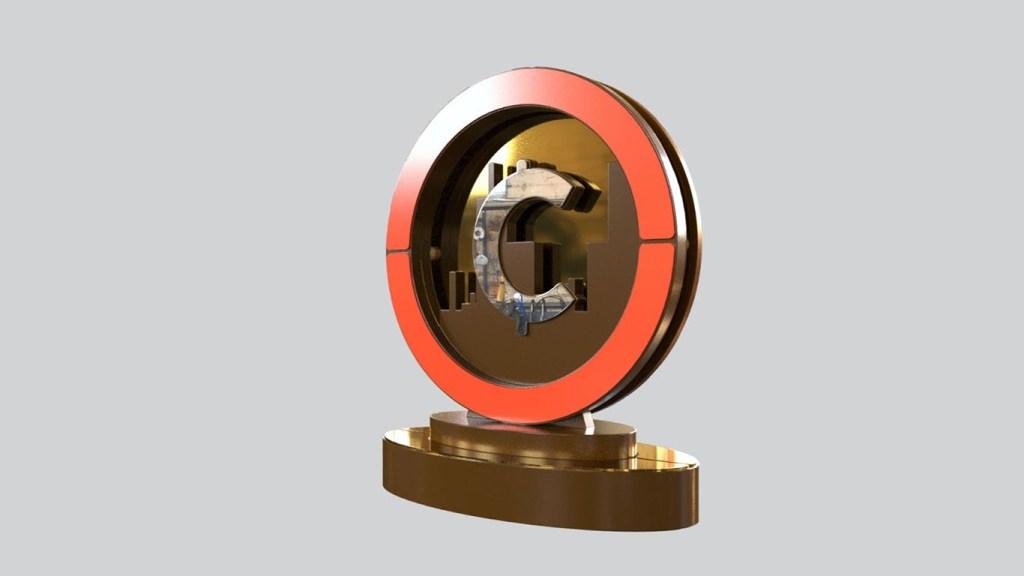modelo de troféu