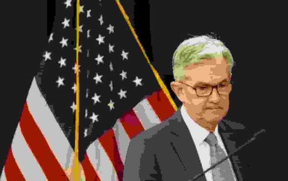 Jerome Powell, presidente do Fed