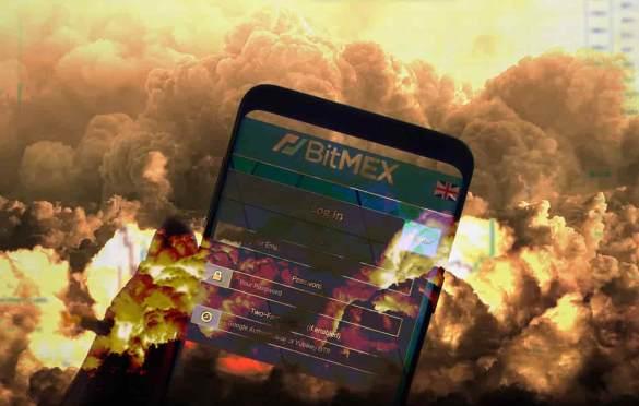 Bitmex explodindo