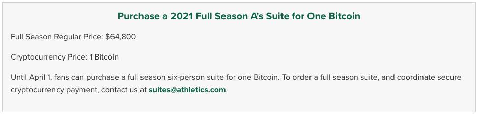 "Time profissional de baseball aceita Bitcoin como pagamento: ""Nós vamos segurá-los"""