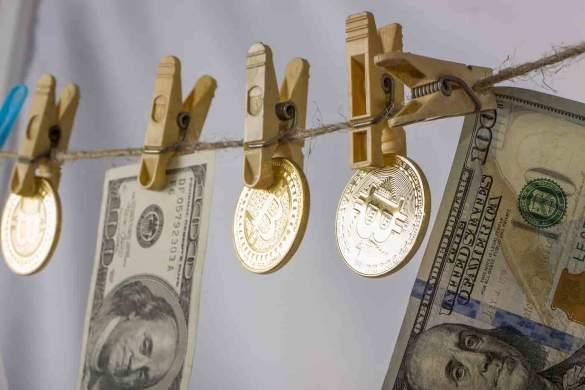 bitcoin lavado no varal