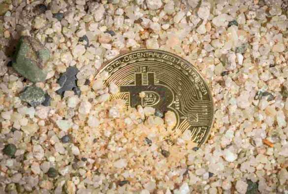 Bitcoin perdido, enterrado