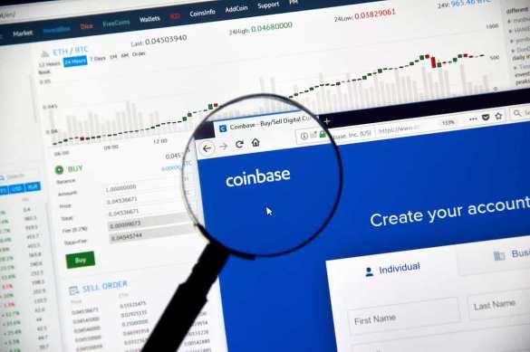 Ações da Coinbase