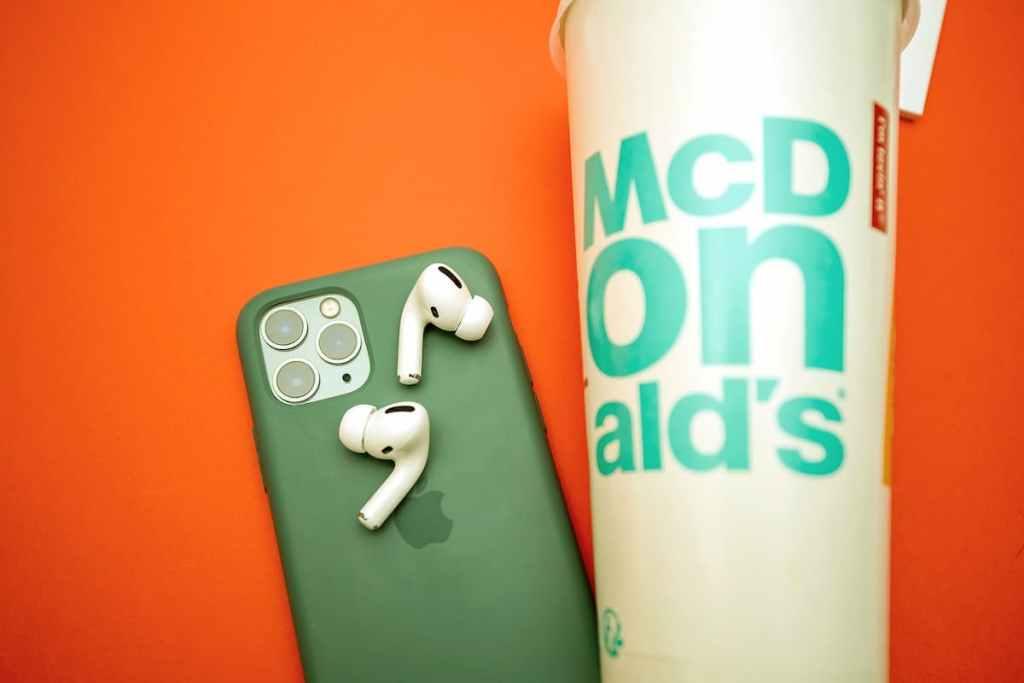 McDonald's iPhone