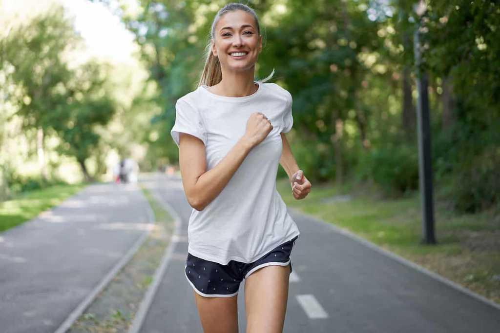Exercícios físicos, corrida