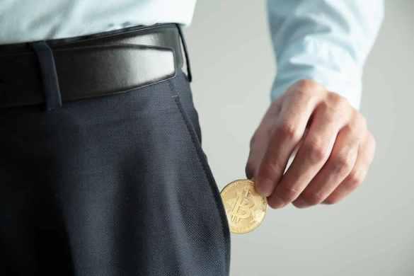 bitcoin no bolso