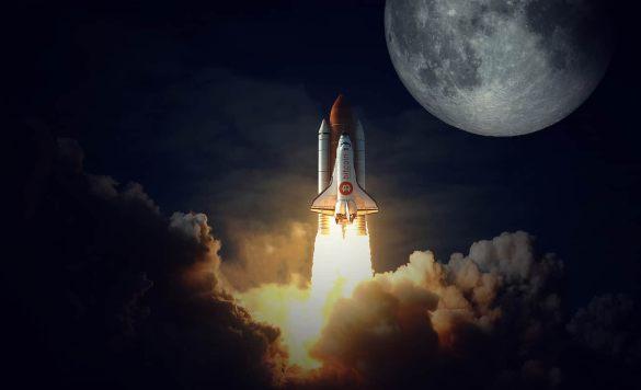 Bitcoin sinal de alta - to the moon