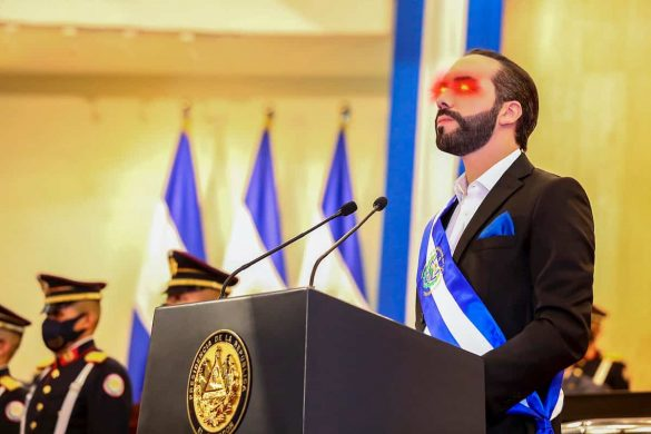 Bukele, presidente de El Salvador