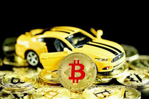 carro elétrico que minera bitcoins