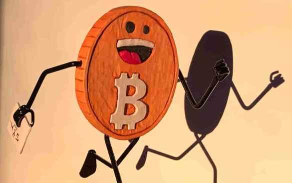 Bitcoin correndo