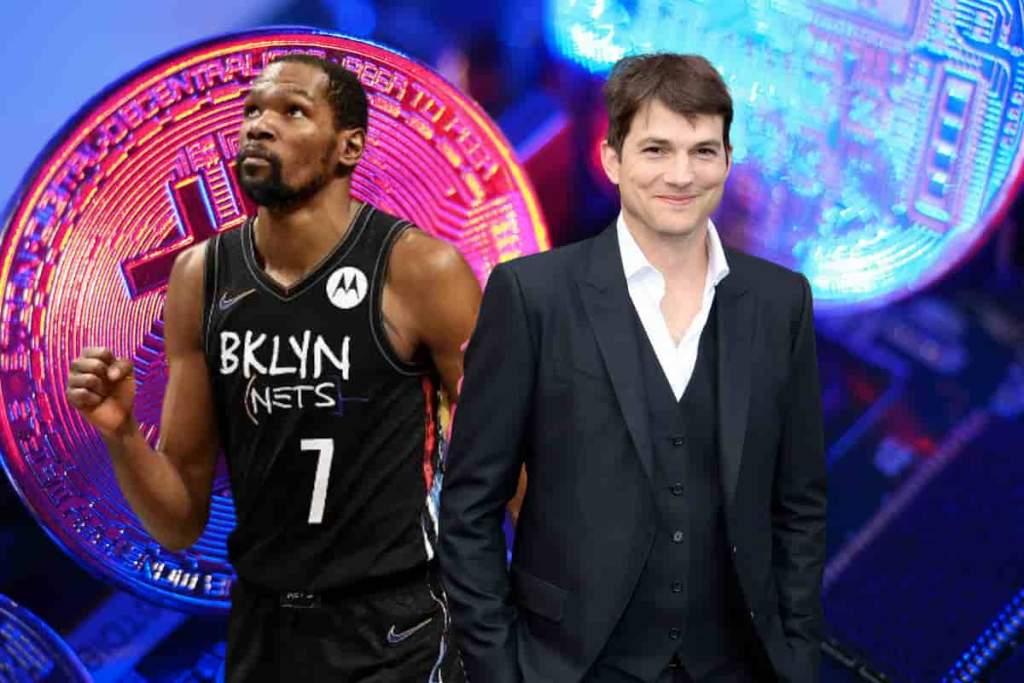 Kevin Durant e Ashton Kutcher investem em NFT