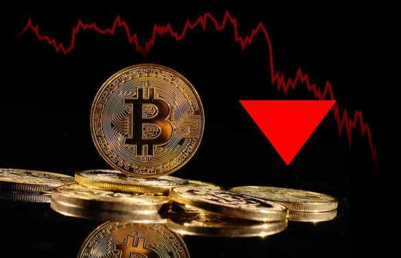 bitcoin quebra abaixo de
