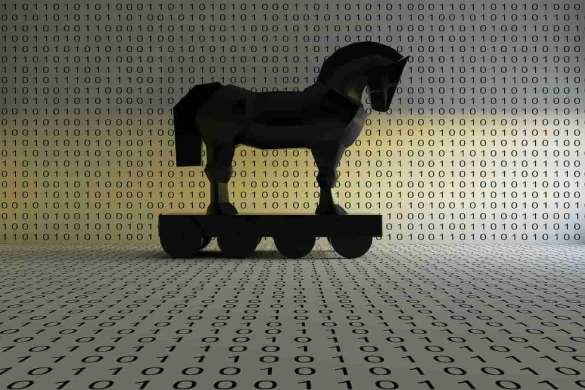 Cavalo de troia com números binários