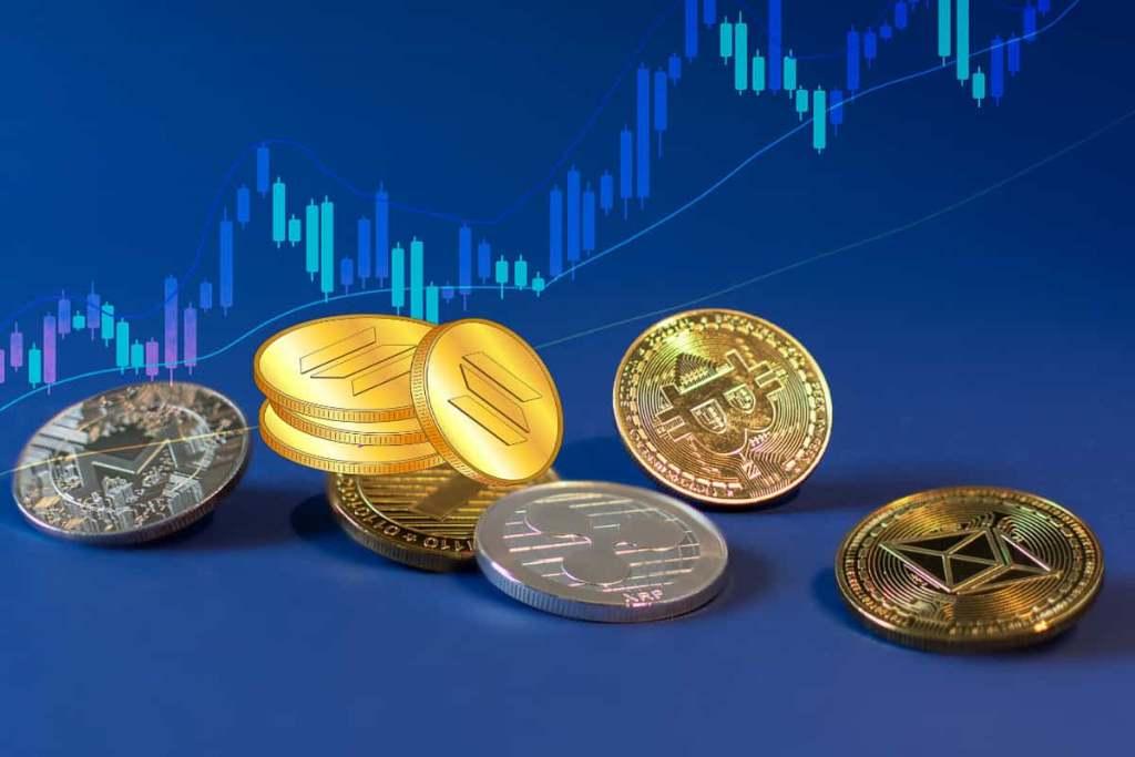 Solana e altcoin e Bitcoin