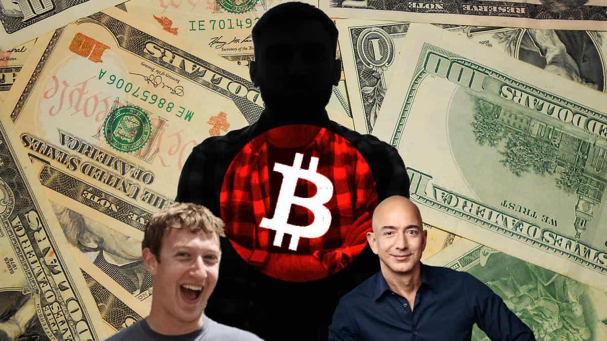 Criador do Bitcoin pode superar riqueza de Mark Zuckerberg do Facebook