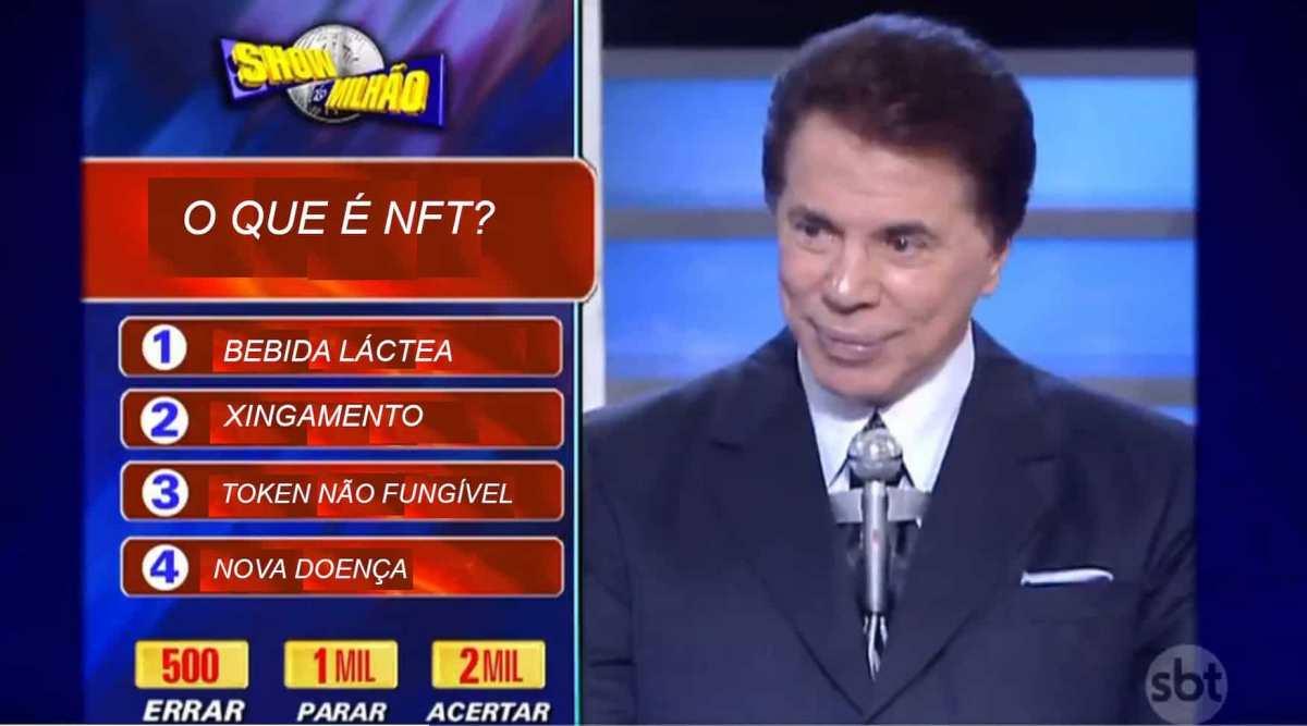"""Silvio Santos lança NFTs: """"quem quer dinheiro?"""""""