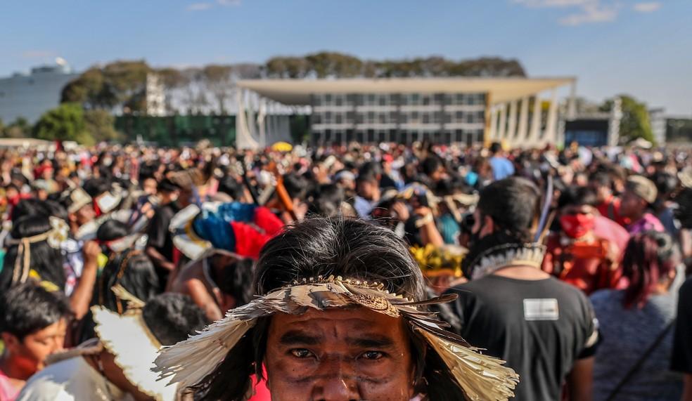 Indígenas sem blockchain STF
