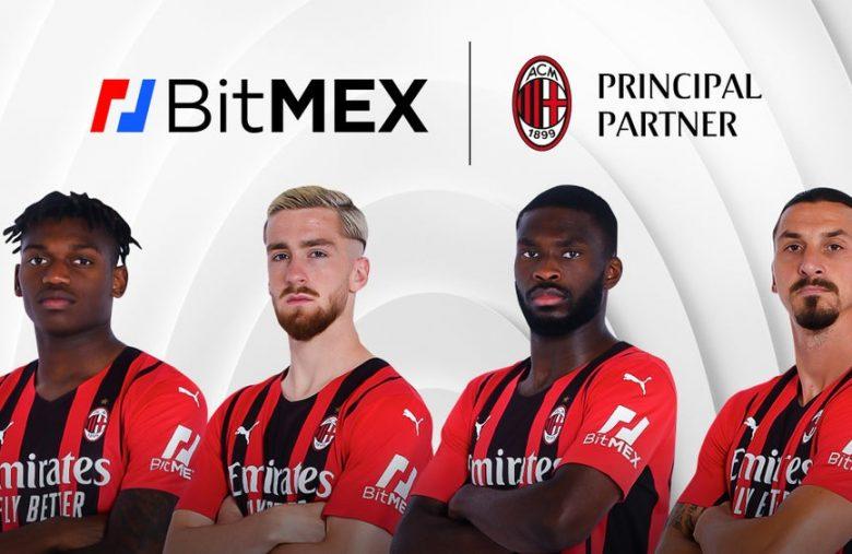 BitMEX é a nova patrocinadora do AC Milan