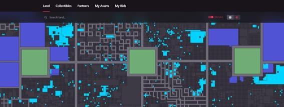 Terrenos: mapa do jogo
