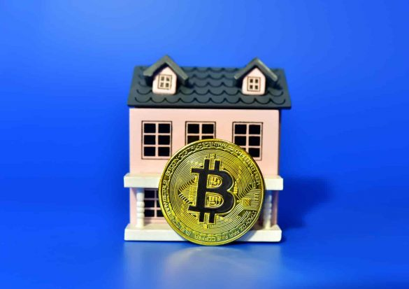Imóvel tokenizado em blockchain