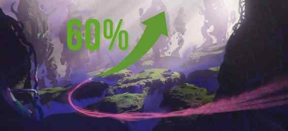 Alta de 60% de cripto-game
