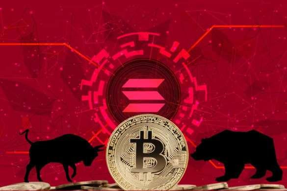 Bitcoin em R$ 250.000 e Solana caindo
