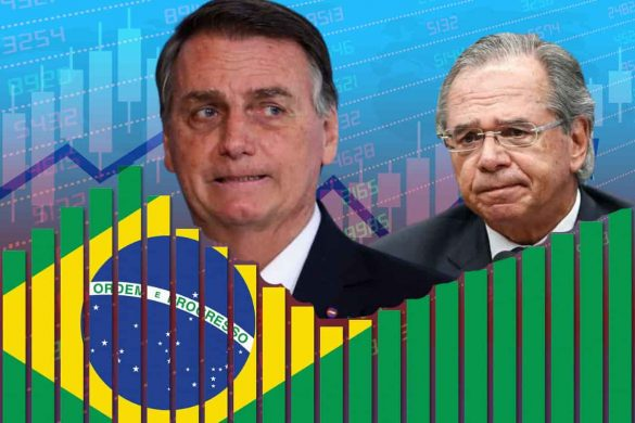 Brasil Guedes e Bolsonaro crise política e economica