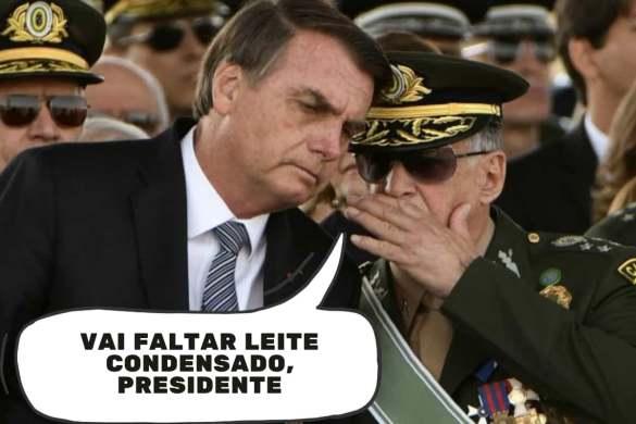 Exército Bolsonaro Inflação
