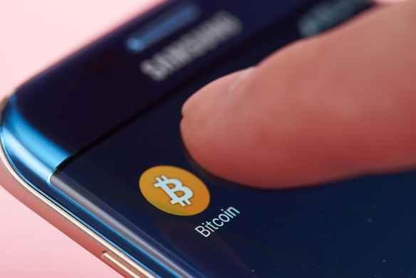 Aplicativo paga em bitcoin