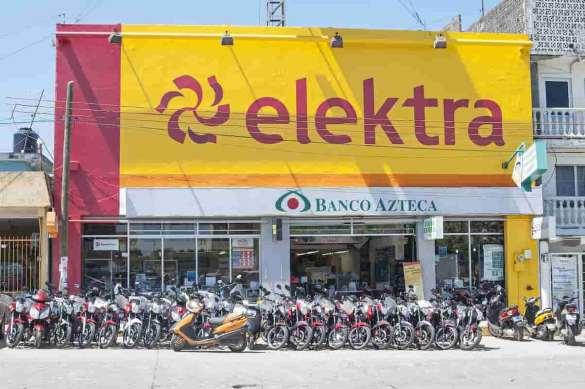 Loja Elektra em Veracruz, no México.