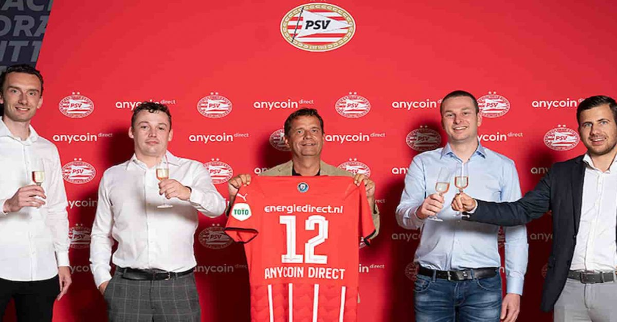 Clube de futebol PSV se torna o primeiro a ter Bitcoin em caixa