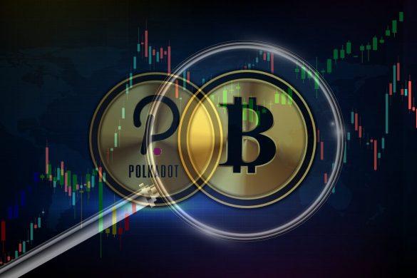 Bitcoin ultrapassa Polkadot
