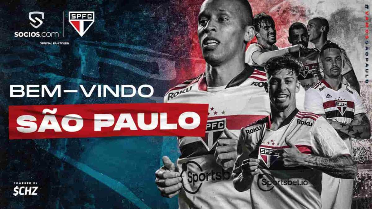 """São Paulo FC lança """"criptomoeda"""" e ganha patrocínio do mercado cripto"""